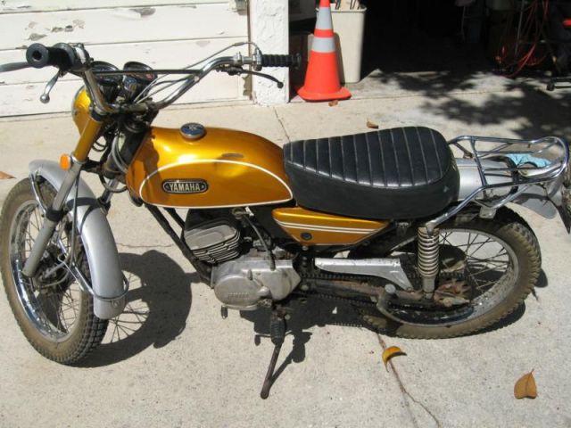 1971 Yamaha 125 Enduro Parts