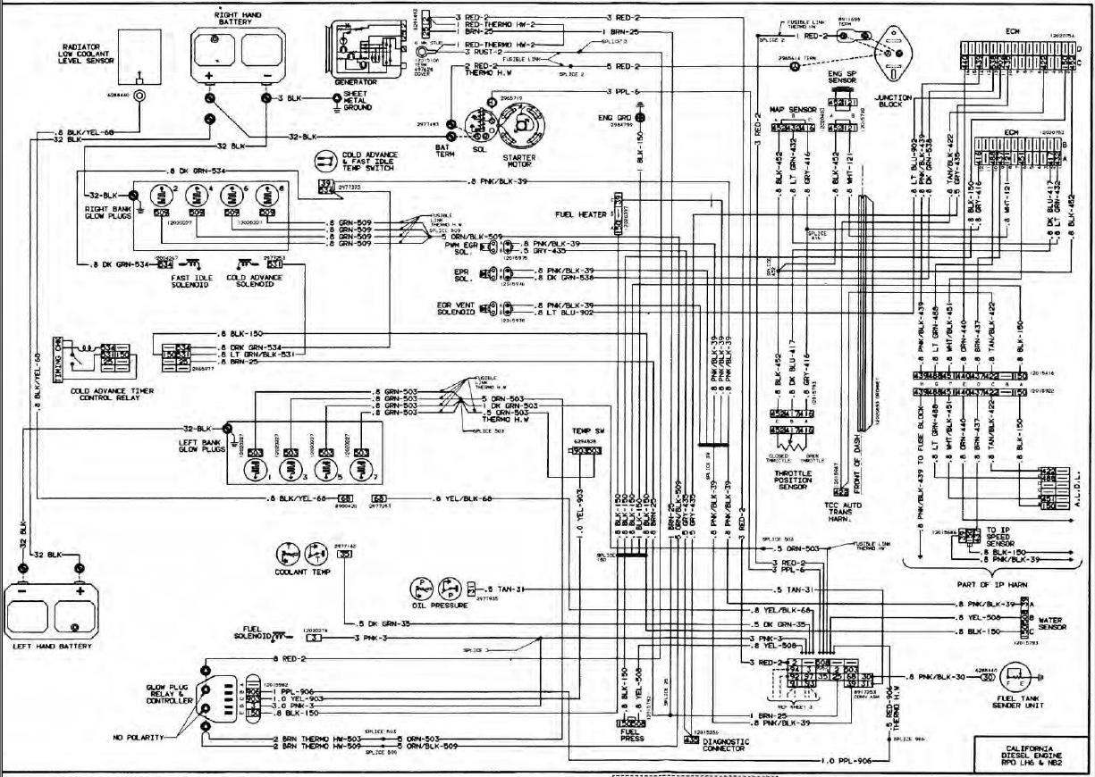 Wiring Diagram For Siverado