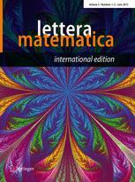 Lettera Matematica