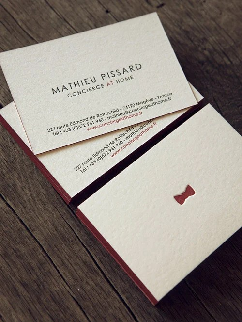 exemples de cartes de visite designs