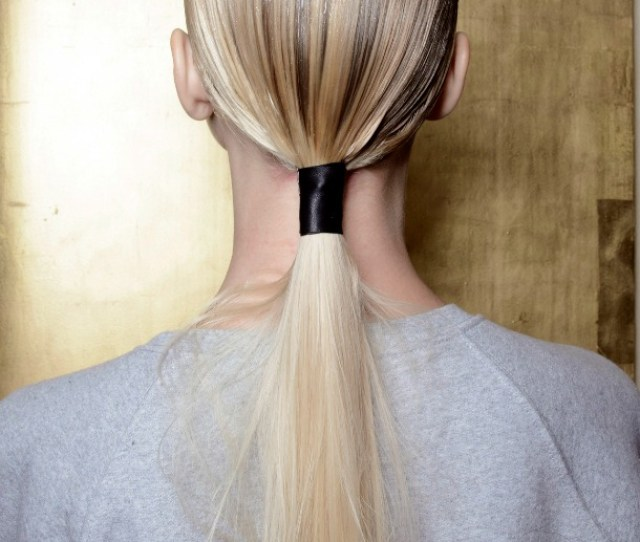 7 Amazing Low Ponytails Youll Love