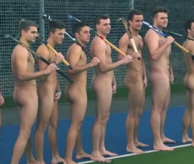 Watch A University Hockey Team Get Naked To Stop Homophobia In Sport Nsfw