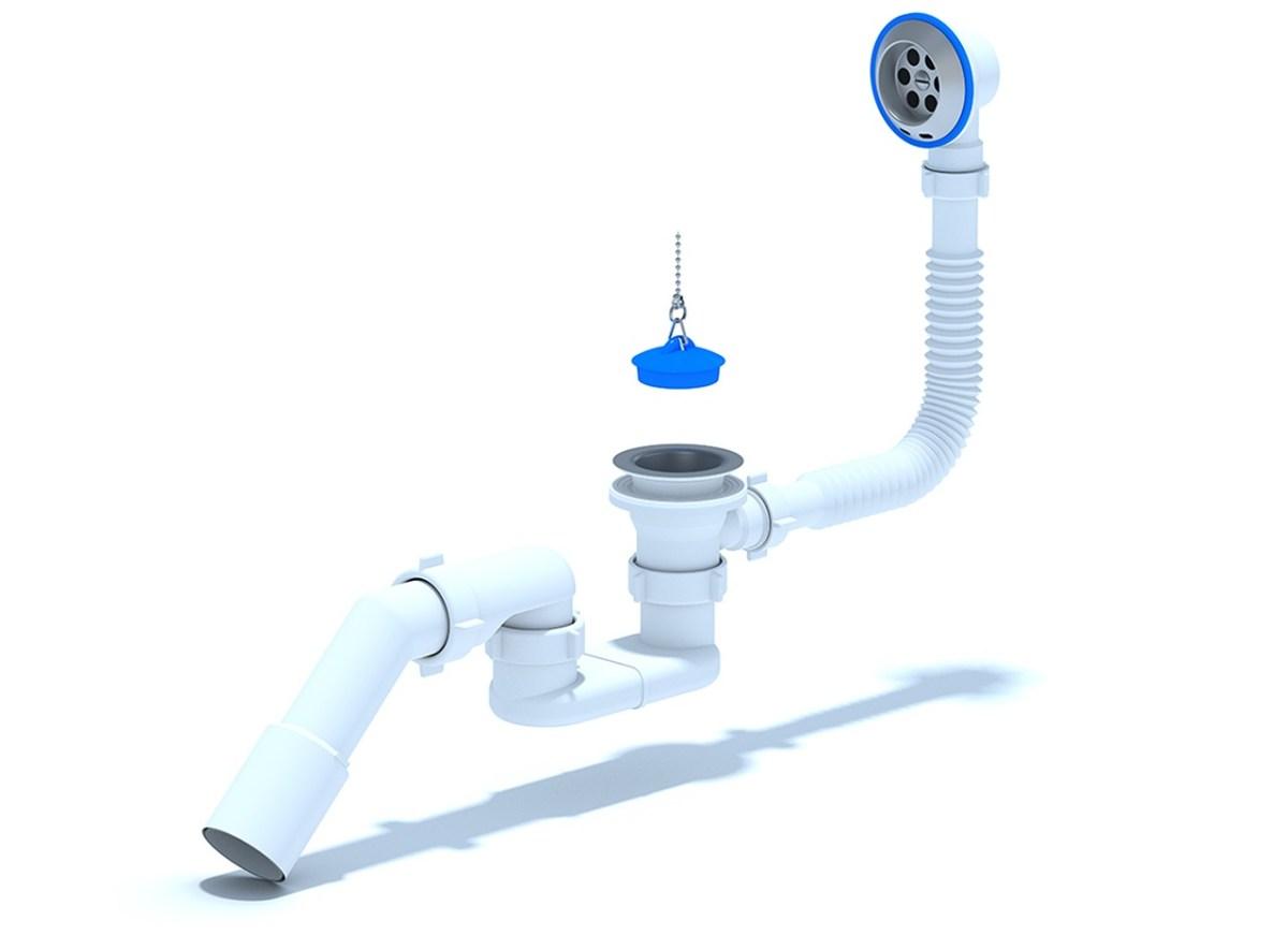 Классический слив-перелив для ванны Ани Пласт