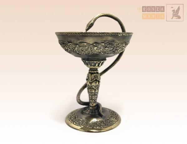 статуэтка Чаша медицинская со змеей - купить в интернет ...