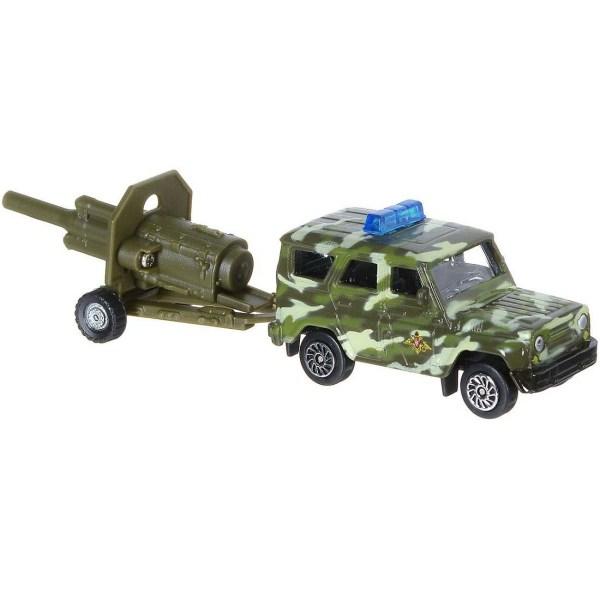 Технопарк Военная техника Внедорожник с артиллерийской ...