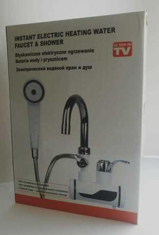 Проточный кран-водонагреватель с душем Instant electric ...