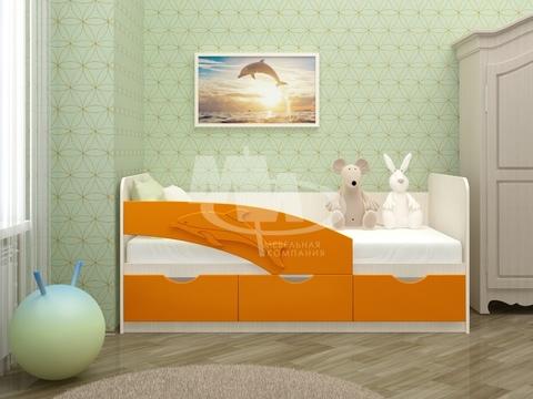 Кровать Дельфин мдф 1,6 м (Миф), купить, цена | Дом Мебели ...
