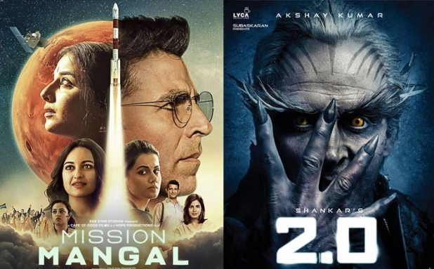 Mission Mangal Box Office (Worldwide): Akshay Kumar BEATS His Own 2.0!