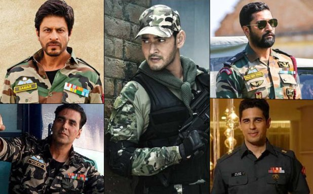 From Shah Rukh Khan To Mahesh Babu, Heres A List Of Actors Who Have Nailed The Army Look Like A Boss!