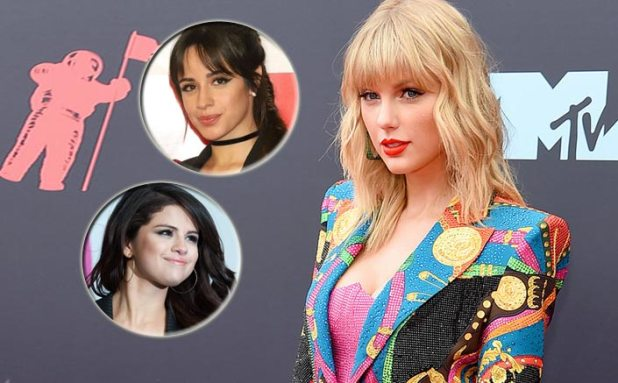 #IStandWithTaylor: Selena Gomez, Camila Cabello Back Taylor Swift Over American Music Awards Row