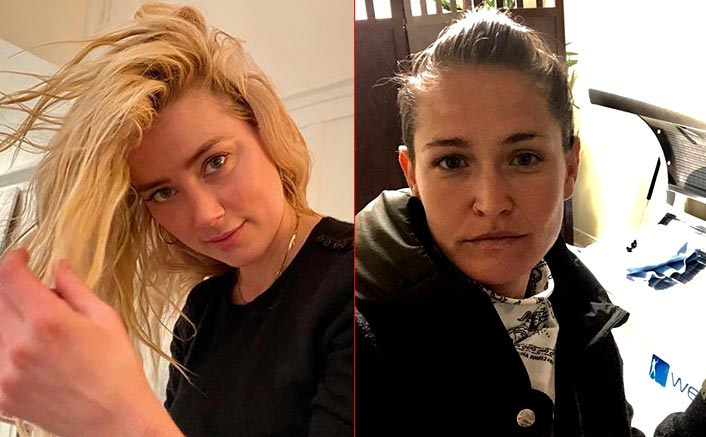 Amber Heard & Girlfriend Bianca Butti Step Out Hand-In-Hand In Sobo After Johnny Depp's Libel Trial Ends, Pics Inside