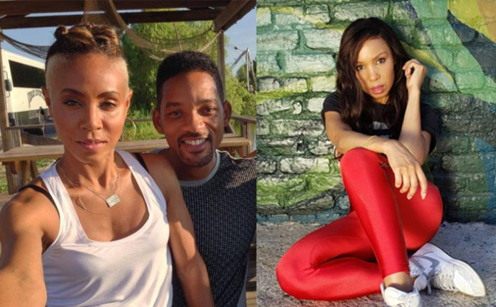 """Will Smith & Jada Pinkett's 'All Of Us' Show Actress Elise Neal Slams The Couple, Says """"If You Have A Young Man Into Your Relationship...""""(Pic credit: Instagram/eliseneal Facebook/Jada Pinkett Smith)"""