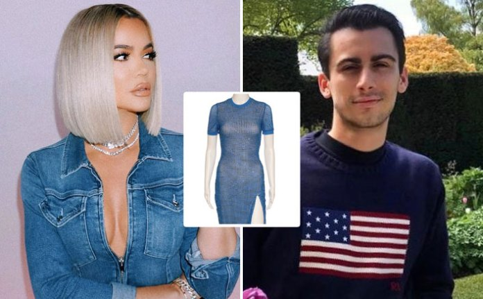 Khloe Kardashian Lists A Shimmery Blue Dress At $1300, Designer Christian Cowan Accuses Her Of Selling His Loaned Sample