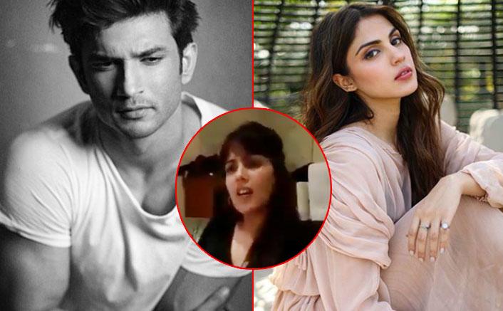 Rhea Chakraborty Viral Video: Netizens Assume That The Actress Calls Sushant Singh Rajput A 'Gunda'