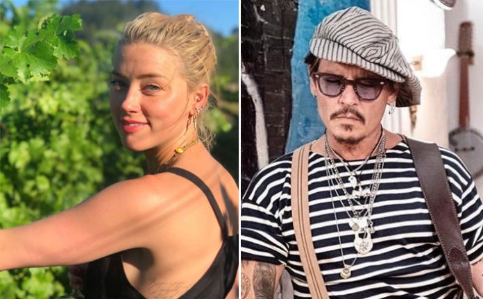 Amber Heard REVEALS Johnny Depp Once Called Her A 'Wh*re' & That He's Going To Have To Watch Her Get R*ped (Pic credit: Instagram/amberheard Instagram/johnnydepp)