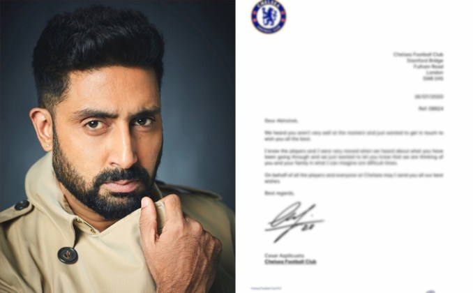 Abhishek Bachchan Receives A Letter From The Captain Of Chelsea Expressing Concern Over His Health