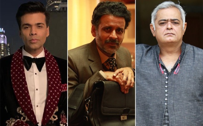 Karan Johar Was The FIRST Person To Come Out & Support Manoj Bajpayee's Aligarh Reveals Hansal Mehta