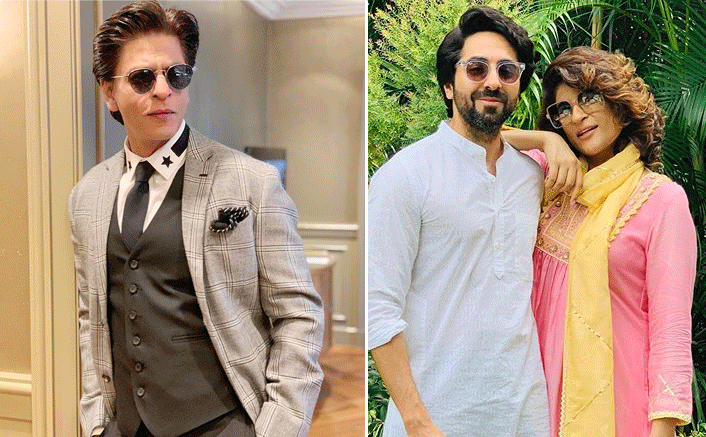 Shah Rukh Khan Reveals Ayushmann Khurrana & Tahira Kashyap's Favourite Make-Out Spot Was In Theatres Watching His Films! (Pic credit: Instagram/tahirakashyap, iamsrk)