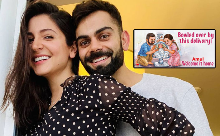 Amul Is Back With Yet Another Creative Post & This Time It's For Virat & Anushka