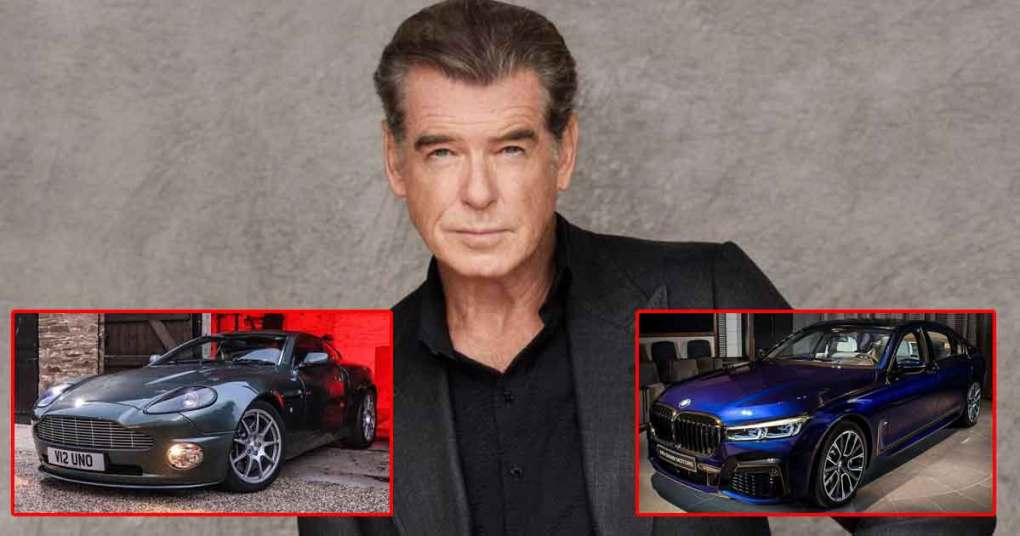 From Aston Martin To BMW 750i: Take A Look At Cars Parked At Pierce Brosnan's Garage