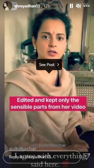 Aly Goni, Shreya Dhanwanthary Share Sensible Kangana Ranaut