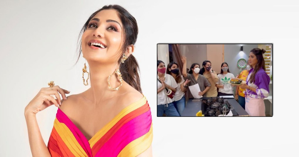 Shilpa Shetty's Team Welcomes Her Back With A Dhadkan Song & Loots Her Tadka Idli, Read On