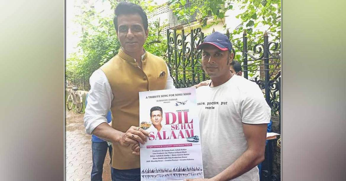 Sonu Sood's Fan Selling Vegetables For Living Dedicates A Song To Him Titled 'Dil Se Hai Salaam'