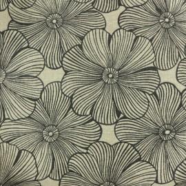 tissu polycoton diva du jardin naturel grande largeur x 25cm
