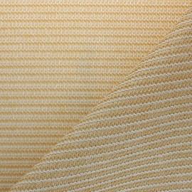 tissu toile d ombrage sunpro anti uv sable x 10 cm