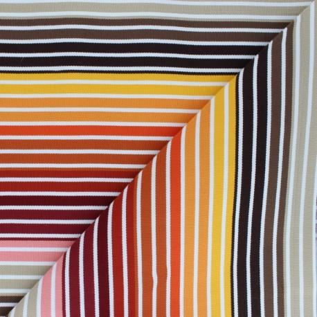 tissu toile transat playa monaco multicolore x 10cm