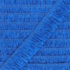 galon franges lurex saturday night fever bleu x 1m