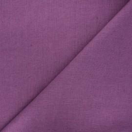 tissu lin lave thevenon raisin x 10cm