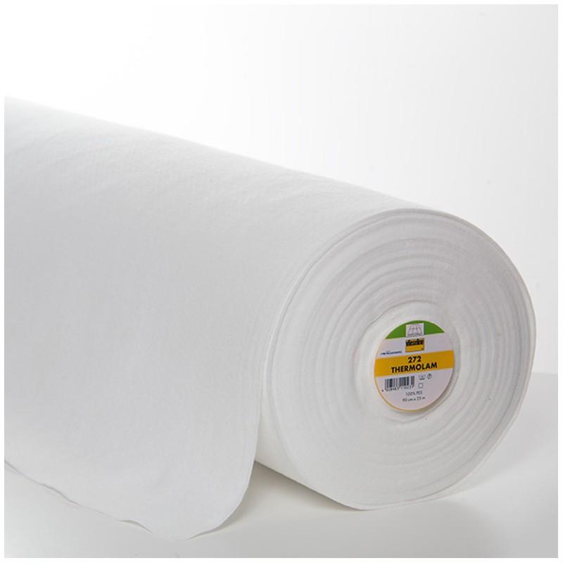 entoilage isolant thermique volumineux thermolam vlieseline 272 90cm x 10cm