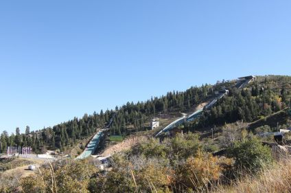 Utah Olympic Park Jumps