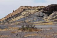Verbrannter Berg
