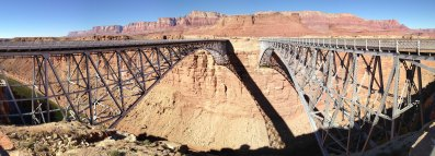 Navajo Bridges Panorama