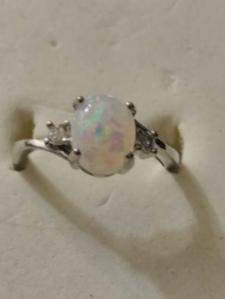 JCPenney Rings   Mercari JCPenney   BN OPAL RING