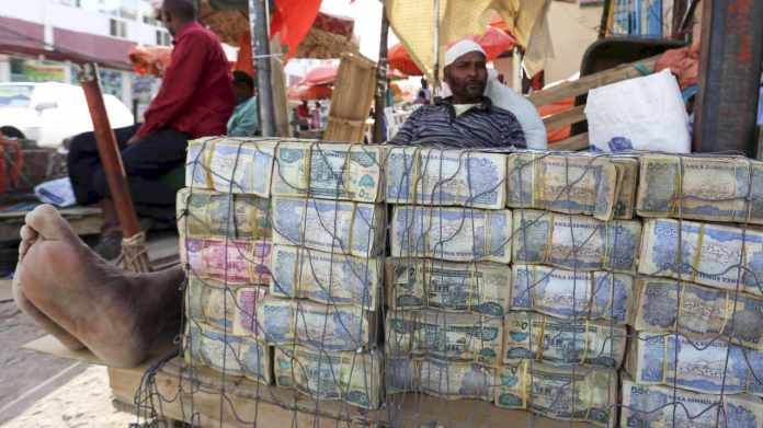 5) Somaliland shilling | The currency of Somaliland is not considered legal tender outside the boundaries of this self-declared republic of Somalia. The 5,000 shilling is the country's largest note, and is worth much less than a US dollar. Cash transactions by the suitcase or even wheelbarrows are the norm. (Image: Reuters)