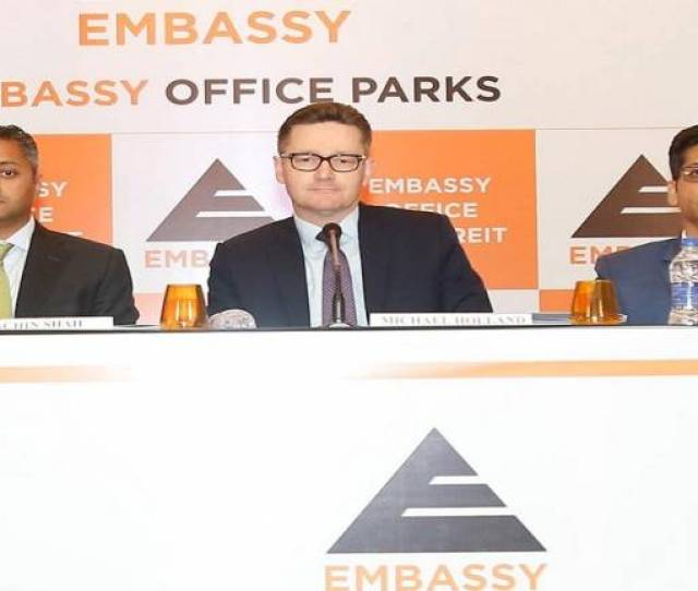 Embassy Office Parks Launches First Reit In India To Raise Rs 4750 Crore