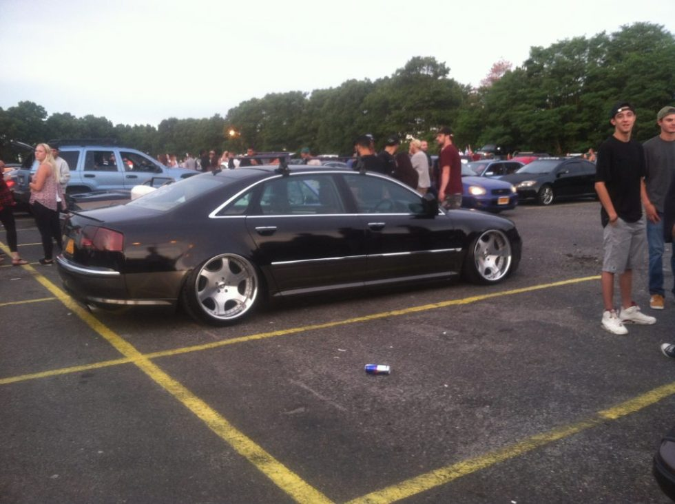 audi a8 weds cranze, audi with wedz cranze wheels