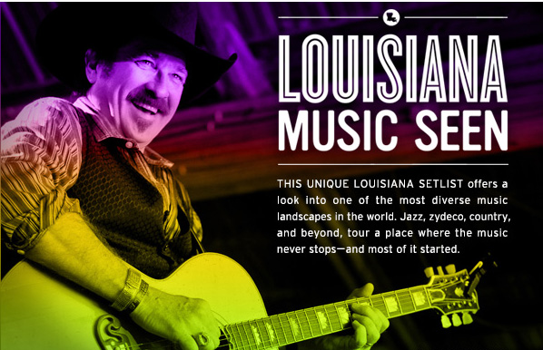 This unique Louisiana setlist offers a look into one of the most diverse music landscapes in the world. Jazz, zydeco, country and beyond, tour a place where the music never stops-and most of it started.