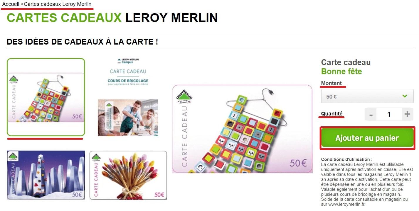 code promo leroy merlin reductions