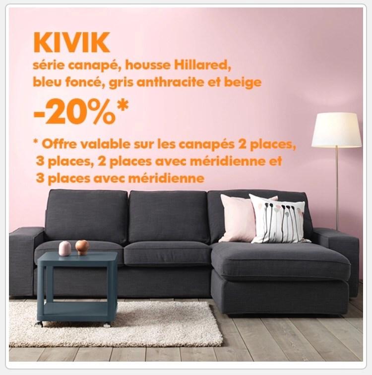 Ikea Family 20 De Réduction Sur Les Canapés Kivik Ex