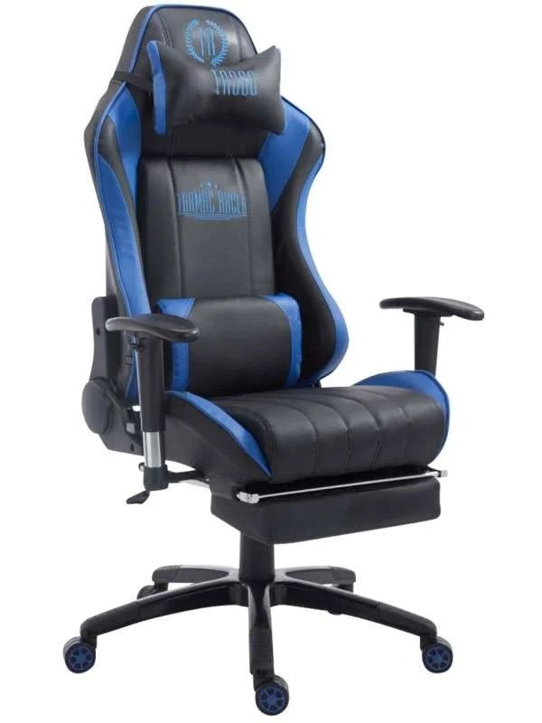 Chaise Bureau Gamer Racing Paal Avec Repose Pied