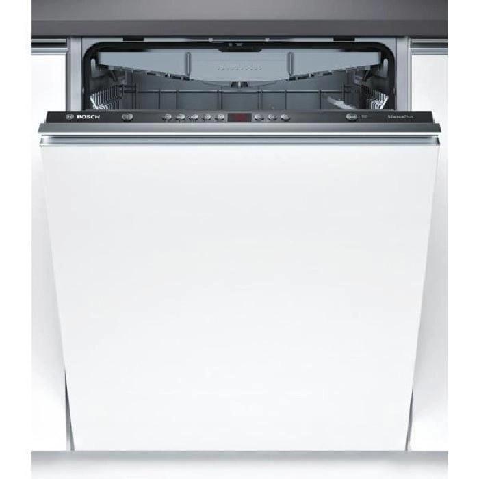 Lave Vaisselle Tout Intégrable Bosch Smv58l10eu 13 Couverts
