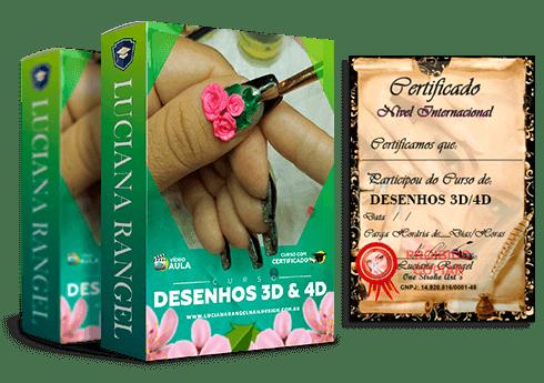 Curso de Desenhos 3D e 4D
