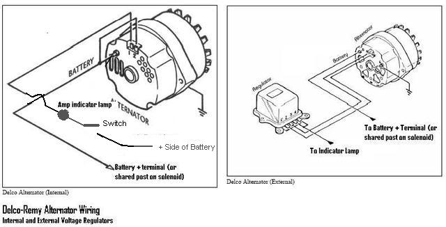 ford alternator wiring diagram internal regulator  jvc car