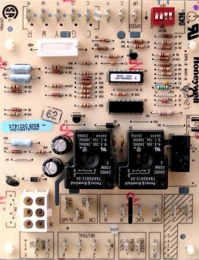 heil furnace control board wiring diagram  1989 color code