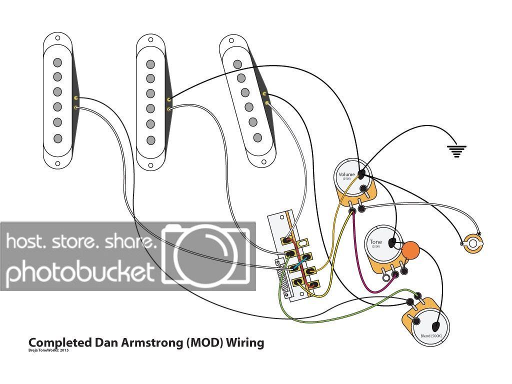 Wiring Diagram Fender Stratocaster