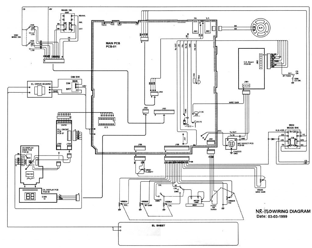Rx Power Supply Schematic Diagram Also Yaesu Md 100